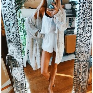 Pants - LA Hearts White Angelic Playsuit Romper ✨